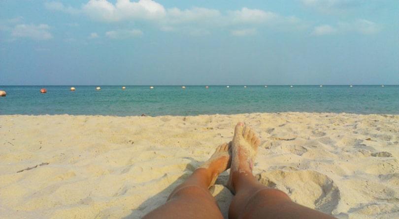 Military beach