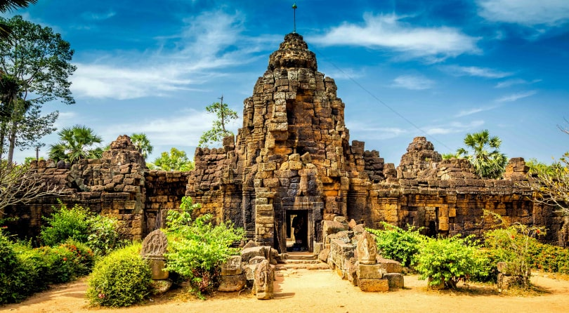 Cambodia Death Pyramid