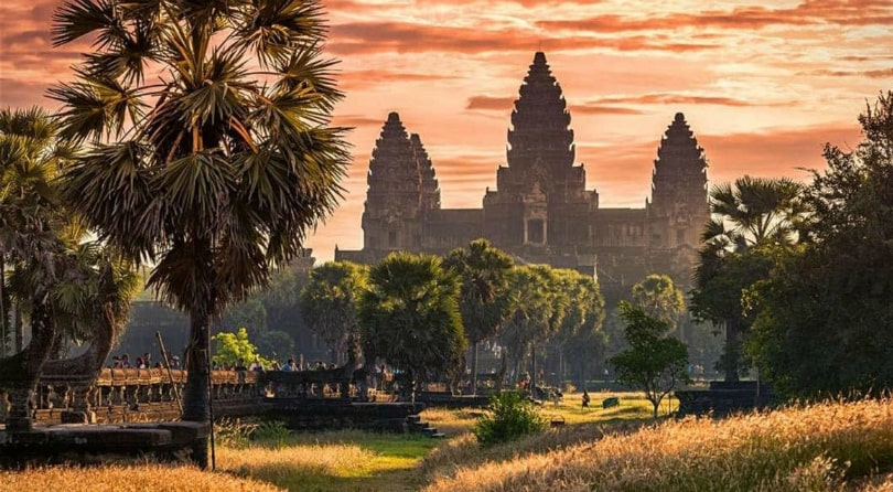 Ангкор Ват Пном Кулен Камбоджа