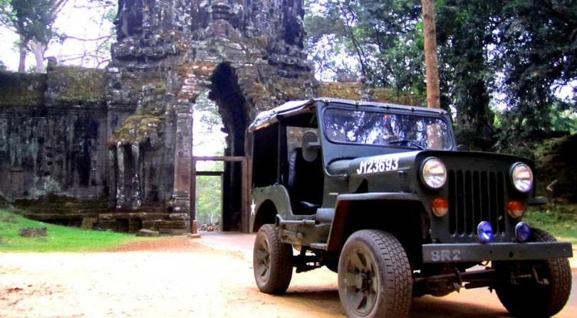 Камбоджа Джип Тур