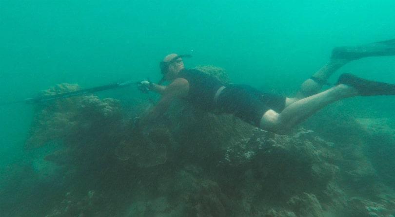 Spearfishing