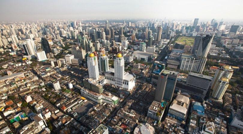 Бангкок на монетах