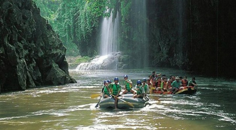 Rafting on the Mae Klong River