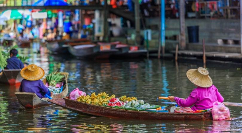 Плавучий рынок Паттайя